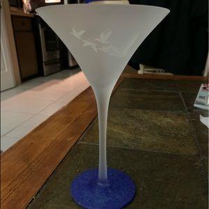 Grey Goose Martini glasses NWOT